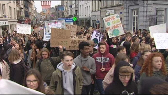 1200 jongeren stappen mee in klimaatmars Mechelen
