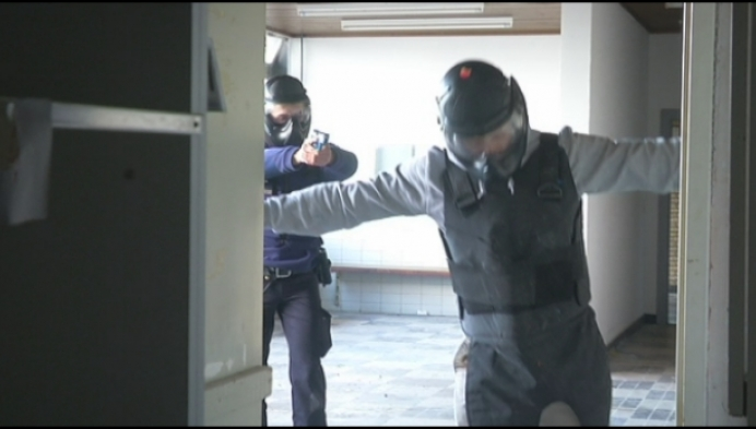 Federale politie oefent op oude site Sunnyland