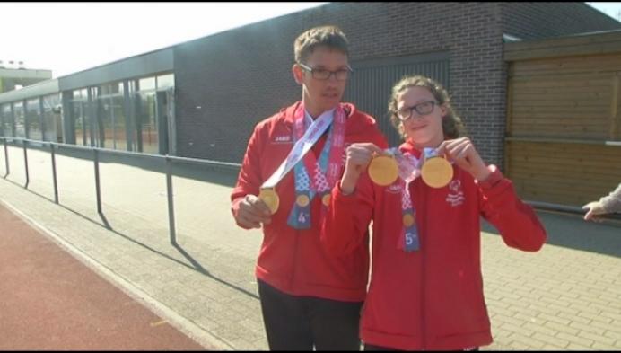 3 gouden medailles voor AC Lyra op Special Olympics
