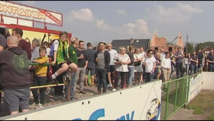 Witgoor Dessel vergeet thuis kamioen te spelen tegen Berg en Dal
