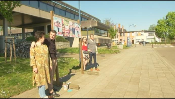 PVDA Herentals protesteert tegen geannuleerde plakborden