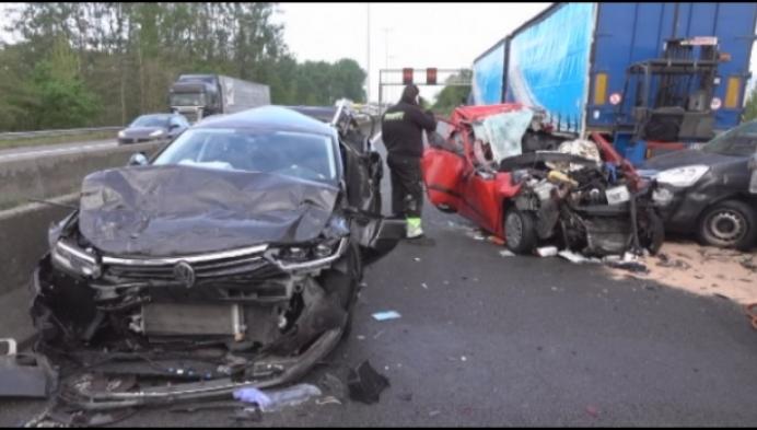 Monsterfiles na zwaar verkeersongeval in Grobbendonk
