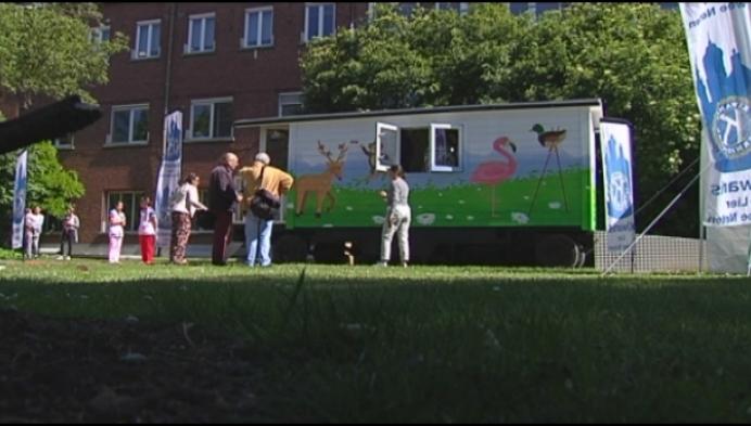 Heilig-Hartziekenhuis in Lier krijgt eerste pipowagen