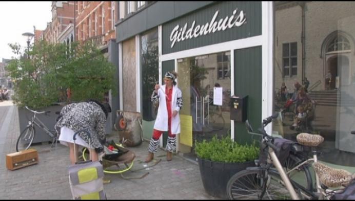 """Expo in Gildenhuis ontruimd: """"Pand is niet veilig genoeg"""""""