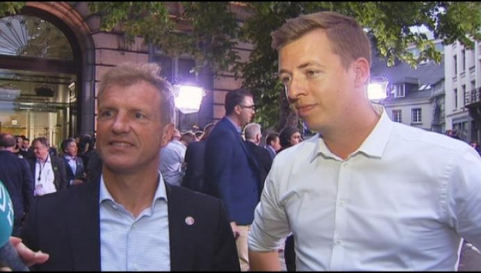 Jan Bertels en Hannes Anaf kunnen niet blij zijn met score SP.A