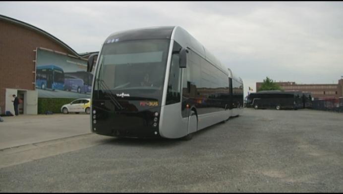 Van Hool stelt allereerste trambus op waterstof voor