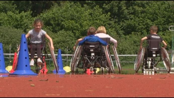 Ook kinderen met beperking op de Sportsterrendag