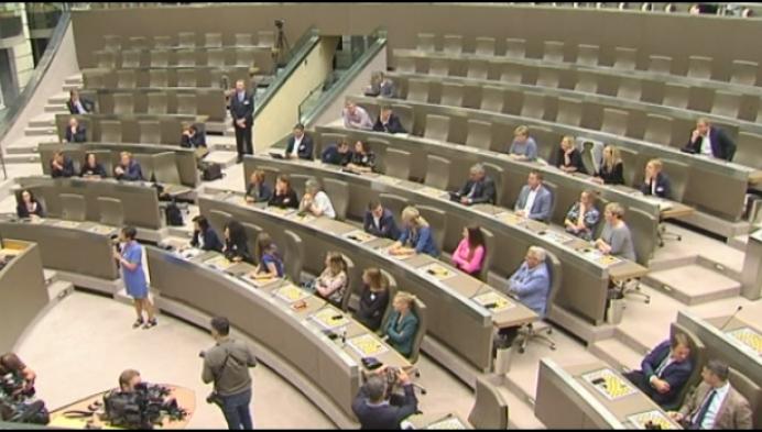 Mechelse parlementsleden verkennen werkomgeving