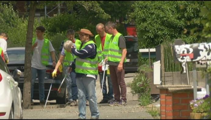 Reinigingsdienst krijgt hulp uit onverwachte hoek