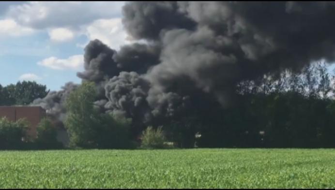 Situatie na brand bij Varec onder controle
