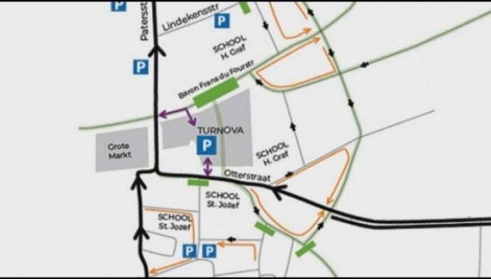 Nieuw circulatieplan rond Turnova in Turnhout