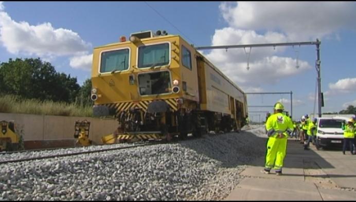 Mechelse spoorbypass moet in april klaar zijn
