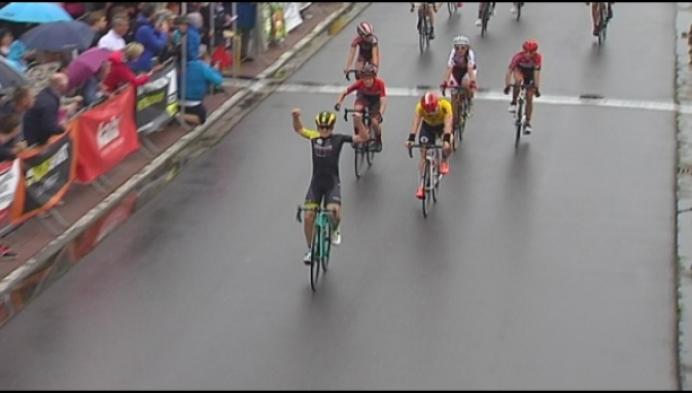 Aspiranten rijden hun Ronde van Antwerpen