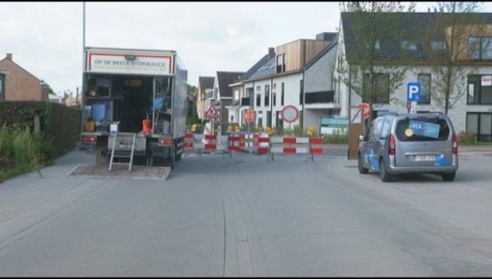 Verkeer negeert signalisatie aan werken in Wiekevorst