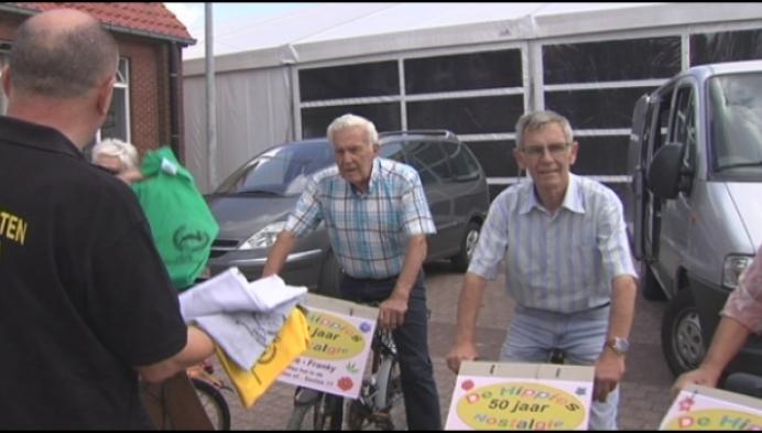 Koerslegendes uit Kleinvelokeskoers samen aan start op 50ste editie
