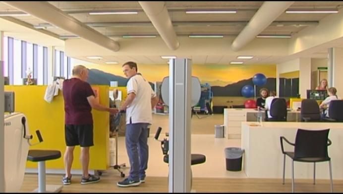 D-wall helpt patiënten in Herentals sneller revalideren