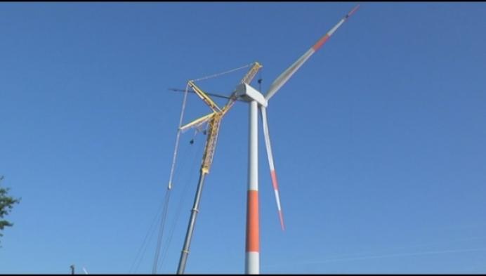 Windmolens langs E19 vervangen door nieuwe