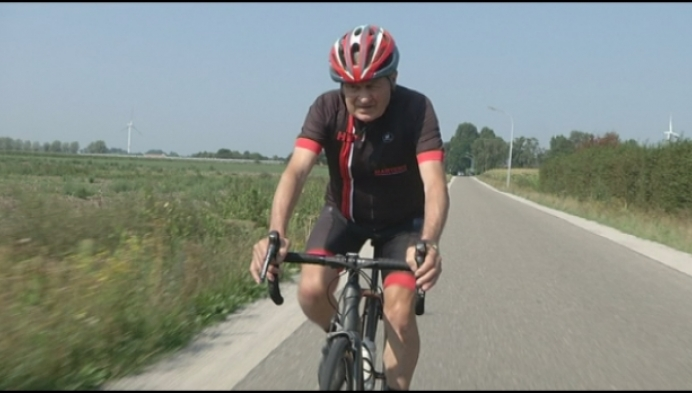 80-jarige Jef Geerts waagt zich aan uurrecordpoging