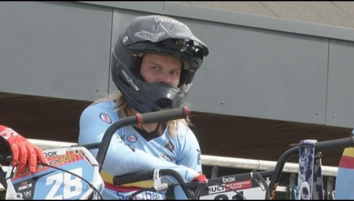 BMX'ster Elke Vanhoof terug naar thuishaven Dessel