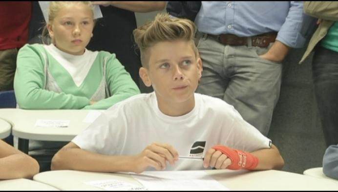 Zondag, eerste schooldag in Turnhout