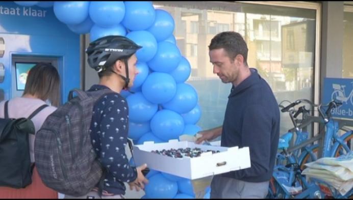 Blue-bikes in Mechelen worden steeds populairder