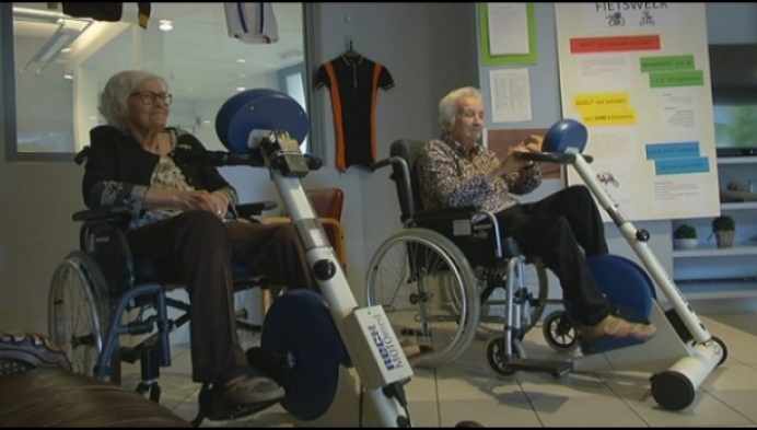 Geelse senioren fietsen 2440 kilometer