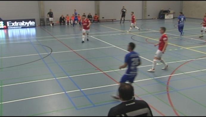 Real Noorderwijk wint makkelijk van Eisden in het futsal