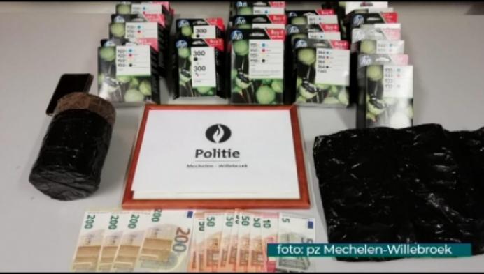 Politie Mechelen betrapt zes dieven op heterdaad