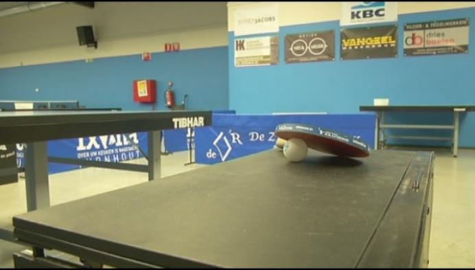 Tafeltennisclub organiseert opnieuw EK op Grote Markt