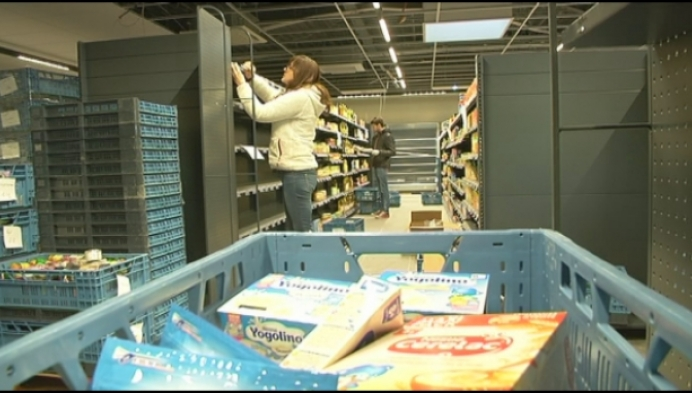 Carrefour Berlaar ondergaat op 1,5 week metamorfose