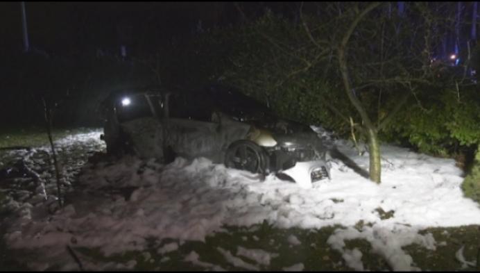 Wilde politie-achtervolging eindigt met zware crash