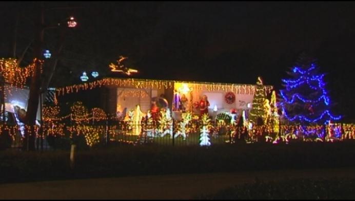 Sinterklaas weg, dan gaan de kerstlichtjes aan ... voor het goede doel