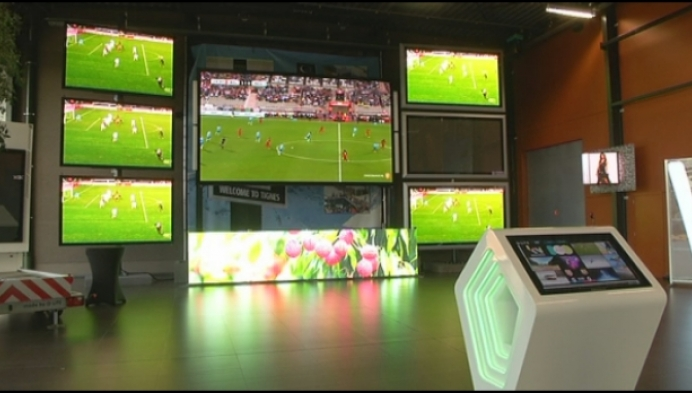 Grote vraag naar reuzenschermen voor EK voetbal