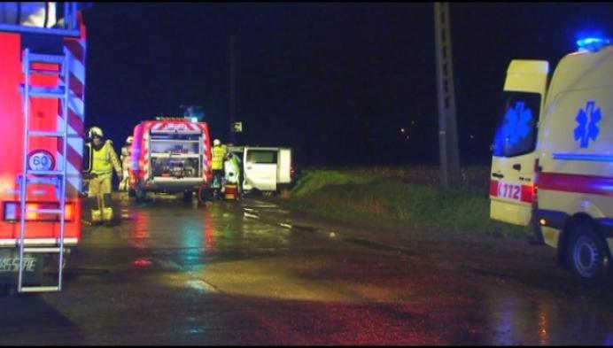Vijf gewonden bij zwaar ongeval in Heist