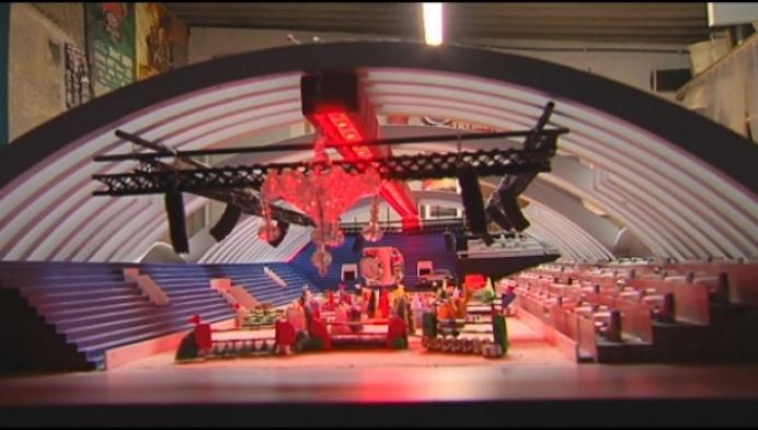 Kempenaar bouwt maquette van Mechelse Kerstjumping