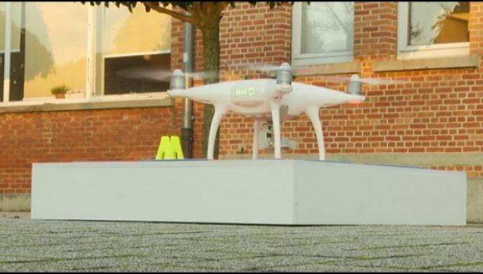 Drone controleert gemeentelijke gebouwen in Nijlen