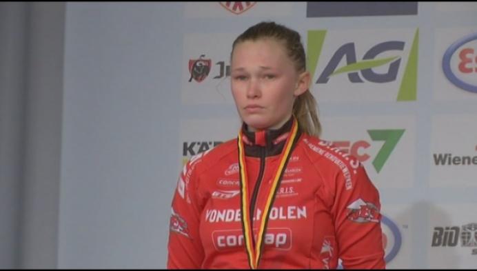 Zilver en brons voor Brouwers en Van den Brande bij meisjes junioren