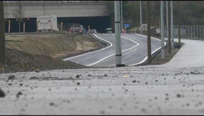 Tijdelijk extra verkeerslichten op N15 aan Douaneplein