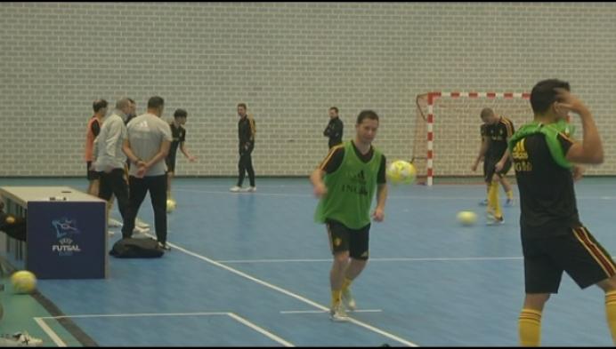 Twee regiogenoten in Belgische zaalvoetbalploeg