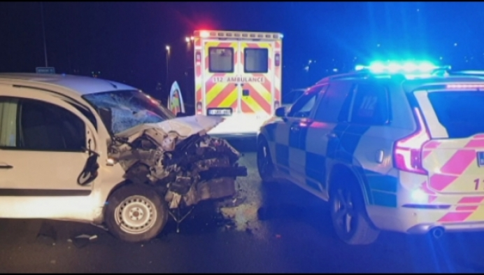 Twee ongevallen op E313: Motorrijder op slag dood