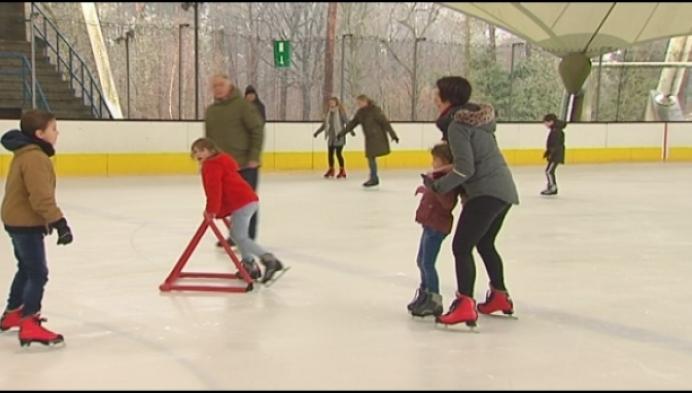 Al 80.000 bezoekers voor schaatsbaan in Herentals