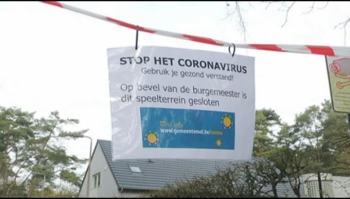 Ook speelpleinen dicht door coronavirus