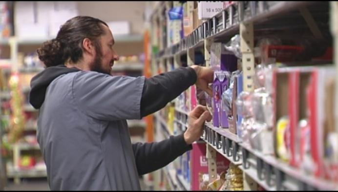 Supermarktpersoneel heeft helse week achter de rug