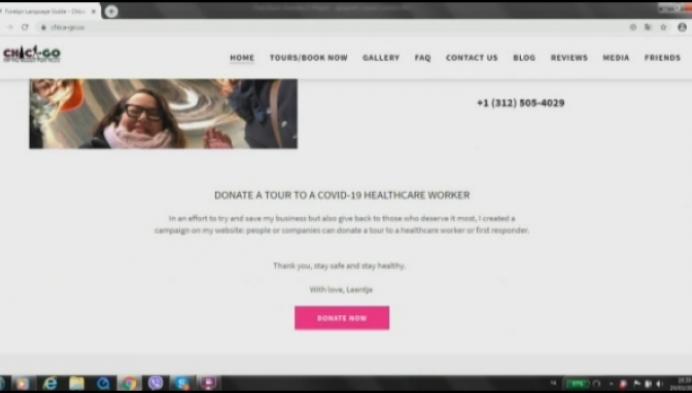 Stadsgids uit Puurs start actie voor Amerikaanse zorgverleners