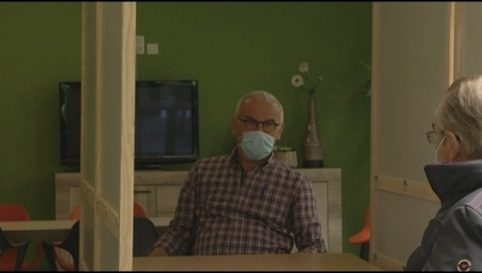 Stemhokjes doen dienst als babbelbox in woonzorgcentrum