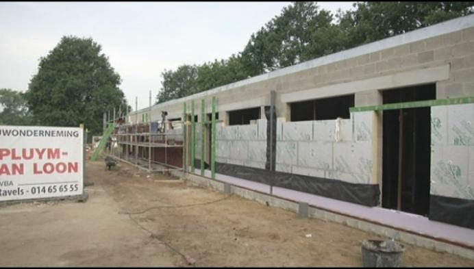 Nieuwe kleedkamers voor KFC De Kempen