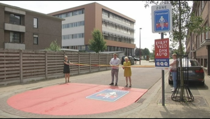 21 straten vormen fietszone in Geel