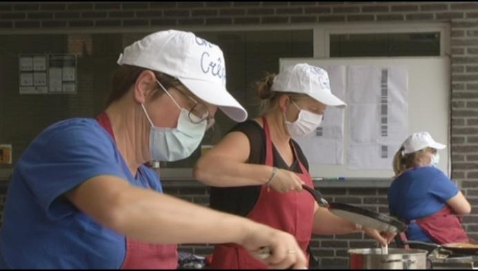 24-uren pannenkoekenslag bij Sinte-Maria Bonheiden