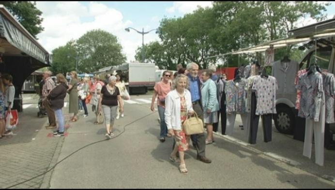 """""""Herentalse markt mag gerust wat voller staan"""""""