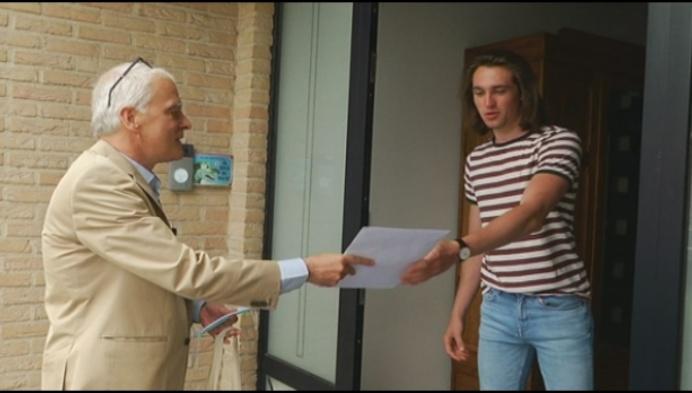 Eerste student UA uit Mol krijgt rector op bezoek